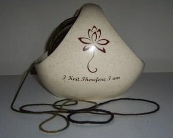 Zen Yarn Bowl Basket made to order