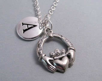 Claddaugh Silver Plated Charm Jewelry Supplies