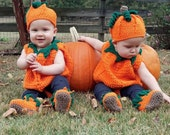 Crochet Baby Pumpkin Costume Digital Crochet Pattern pdf710