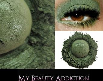 Clearance-Green Mineral Eyeshadow 'Islander'