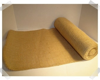 Burlap Ribbon/Beige Color/8 inches wide/Craft Supplies**