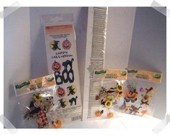 Halloween Scrapbooking Lot / Assorted/ Craft Supplies*
