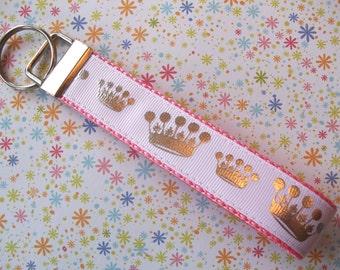 Key Fob Wristlet Style, Princess Crown