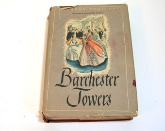 Barchester Towers By Anthony Trollope Vintage Book