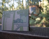 Treehouse Single Notecard - Featuring Nest, a treehouse from Treehouse Point of Treehouse Masters!