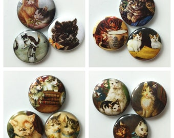 Vintage Cats Magnet Packs Collection