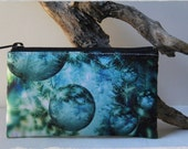 Four Unique Designs for a Zip Up Purse Pouch Wallet Bag in Various Sizes with Custom Original Photo ART by StaticMovement