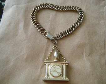 Perfume Flacon Charm Bracelet