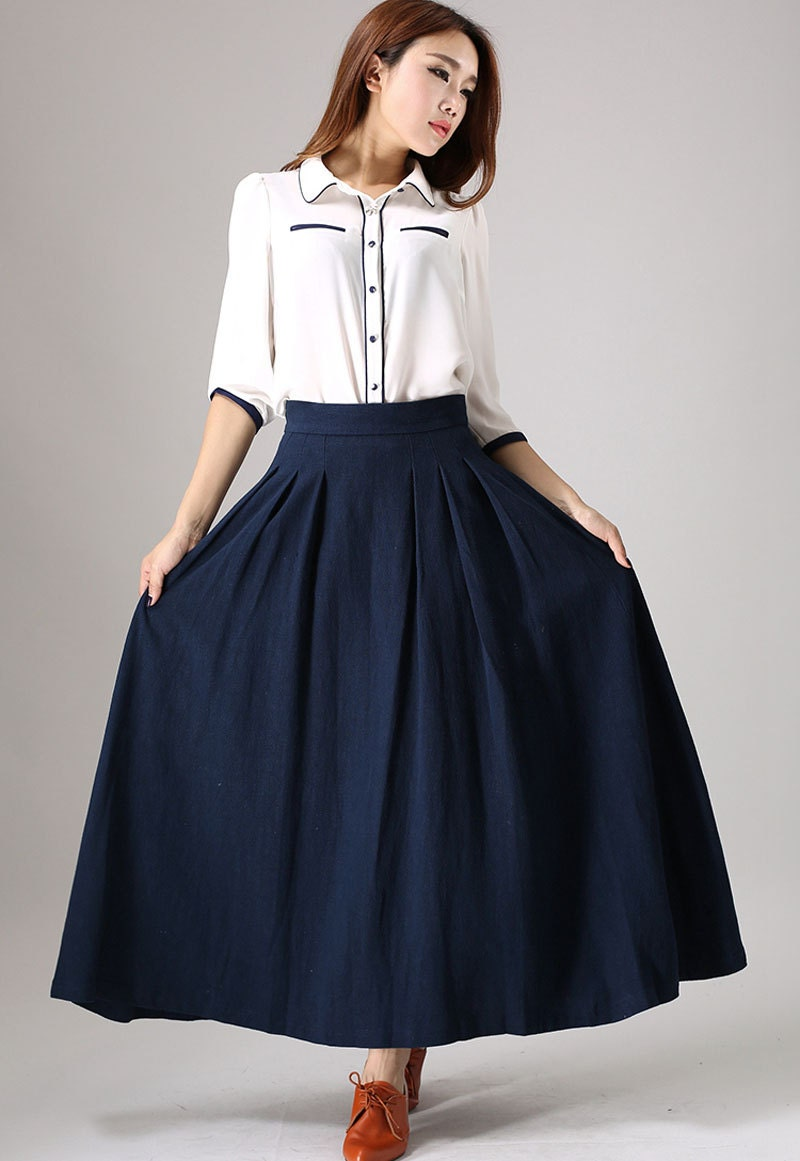 Circle skirt maxi skirt full skirt plus size skirt long