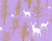 Michael Miller - Brambleberry Ridge by Violet Craft - Timber Valley in Lilac