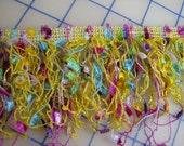1-1/2 Yards Multicolor Confetti Trim - 3.25 inch