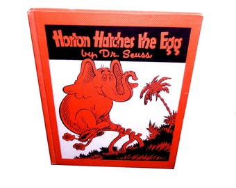 Horton Hatches the Egg. Very Early Printing. 1940s.  Dr. Seuss. Beautiful Condition.