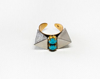 Spiky Turquoise Ring