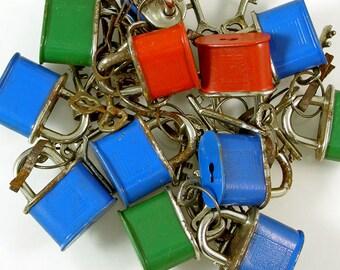 Vintage Mini Working Locks from Germany