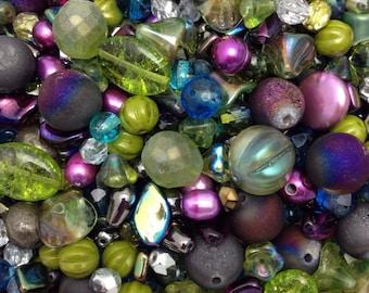 Spectacular Rivoli's Hummingbird Mix with Gemstones and Czech Glass Premium Beads