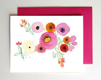 50% Off SALE - Garden Card Single
