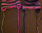 RESERVED two earflap hats
