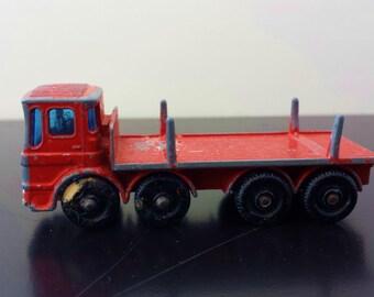 Vintage Matchbox Series No. 10 Pipe Truck
