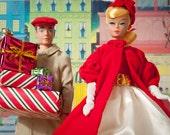 Christmas Shopping Barbie Fine Art Photograph