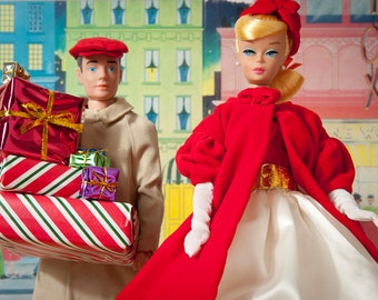 Christmas Shopping Barbie Fine Art Photograph