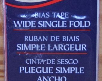 Garment Bias Tape Wide Single Fold