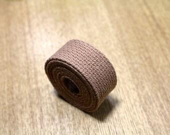 Tan Natural Strap 25mm for bag, U1266