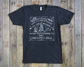 Whiskey And Snakes Tshirt
