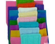 4 SWIFFER TERRY/ TERRY, Swiffer Sweeper Reusable mopping pads, Washable, Double Sided Terry Cloth, Use to Mop, Eco Friendly, EcoGreen Pads