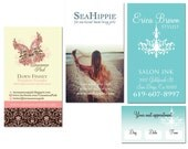 Two Sided Business Card Design