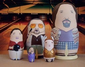 The Big Lebowski Matryoshka Dolls