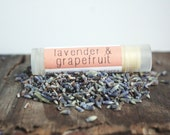 Lavender & Grapefruit Lip Balm // Tube // Organic