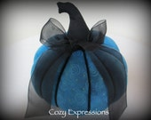 Blue Fabric Pumpkin **Limited Quantites**