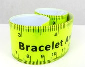 Bracelet Sizer, Anklet Sizer, Slap Bracelet, Wrist Jewelry Sizer, Hipster Jewelry, Gauge Ruler, Tape Measure