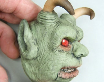 Demon Horror Art Magnet