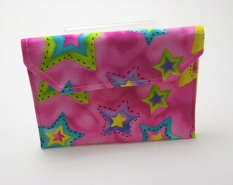 Mini Wallet, gift card holder, business card holder. Grab and Go Wallet.   Ready to ship