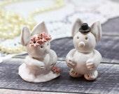 Sale Animal cake topper Wedding cake topper Rabbit cake topper Cute wedding cake topper