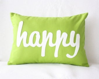 Because I'm Happy! - Happy PIllow - Home and Living / Decor and Housewares