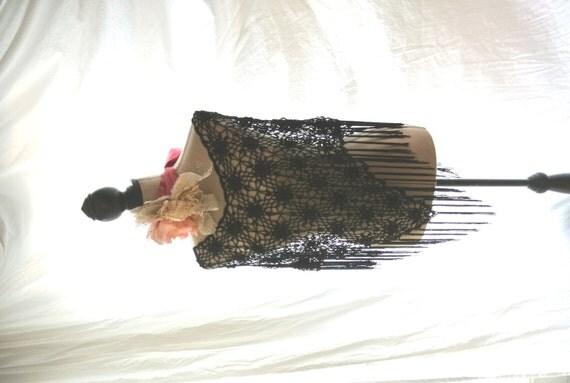 a sale vintage beaded fringed poncho boho by truerebelclothing