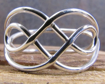Celtic Knot Ring Argentium Sterling Silver