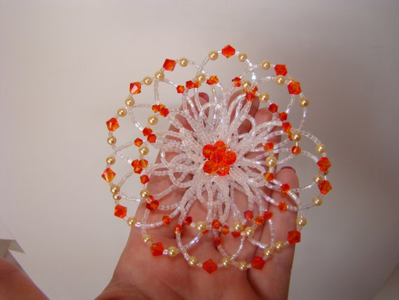 Swarovski Crystal Ice Brooch