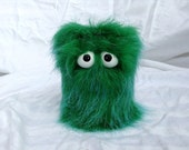 Kids Instruments Shaker - Furry Green Handmade Durable Eco-Friendly Fun Coolest Shaker Drums For Kids