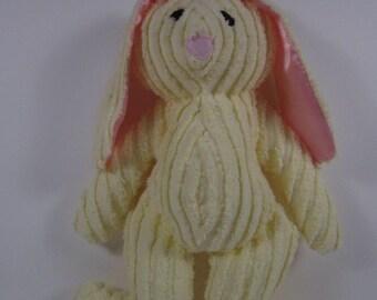 Yellow Chenille Bunny