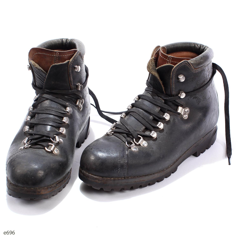 Hiking Bally Boots Vintage 80s Swiss Alpine Mountain