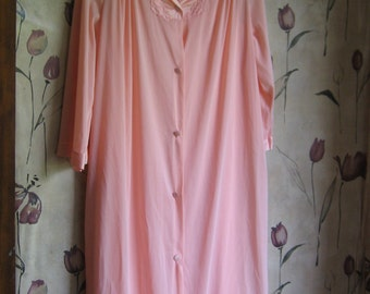 Vintage Lingerie 1970s VANITY FAIR   Nightgown and Robe Set sz small