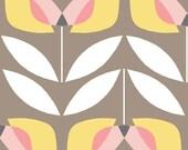 Organic Cotton Fabric-monaluna -Haven- TULIP - low shipping