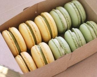 10 Kraft Tote Bakery Boxes (rectangle)