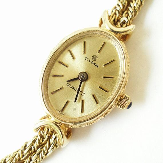 ladies vintage cyma watches