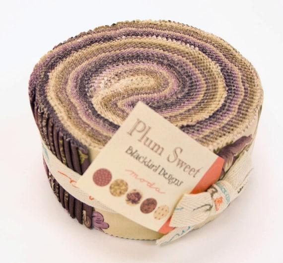 PLUM SWEET Jelly Roll from Moda by Blackbird Designs 2.5-Inch