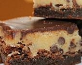 Gourmet Chocolate Chip Cookie Dough Brownies