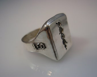 Led Zeppelin Remasters  Ring Solid Sterling Silver 925